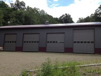 40' x 88' post-frame commercial building in Cochranton, PA
