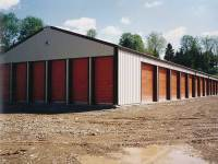 40x200x10 post-frame commercial building in Pittsburgh, PA