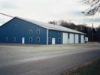 100x124x16 post-frame commercial building in Butler, PA