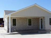 28x36x8 post-frame commercial building in Conneautville, PA