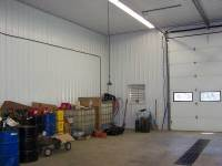 72x96x16 post-frame commercial building in Conneautville, PA