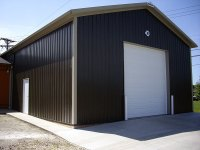 30' x 40' x 14' post-frame commercial building in Transfer, PA