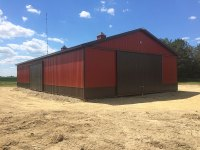 50x88x14 agricultural building in Hermitage, PA