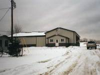 6,000 sq ft post-frame farm building in Sunville, PA