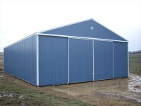 40x64x14 post-frame farm building in Chicora, PA