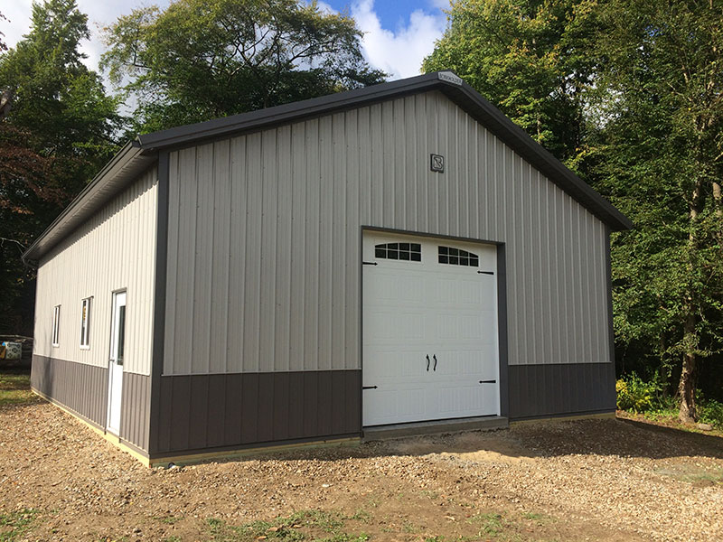 Post-Frame Garages | Hostetler Construction, Cochranton, PA