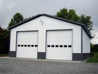 01 26x48x14 post-frame garage in Saxonburg, PA