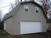 06 26x36x10 post-frame garage in Conneaut Lake, PA