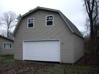 26x36x10 post-frame garage in Conneaut Lake, PA