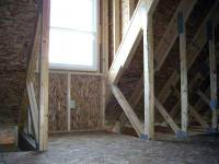 11 28x32x10 post-frame garage in Meadville, PA