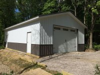 24 ft x 40 ft x 10 ft Garage in Jamestown PA
