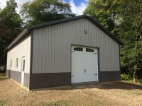 30x40x12 garage Grove City PA 1864
