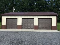 Garage in Mercer PA, 30 ft x 48 ft x 10 ft