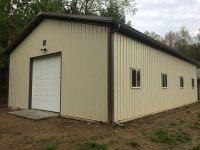 Garage in Mercer PA 30 ft x 48 ft x 12 ft