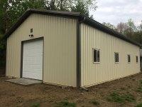 Garage in Mercer PA 30 ft x 48 ft x 12 ft