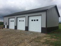 30ft x 48 ft x 12 ft Garage in New Wilmington, PA