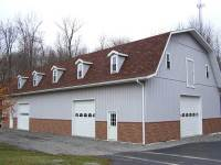 17 40x80x12 post-frame garage in Grove City, PA