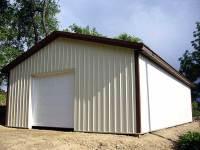 32x48x12 post-frame garage