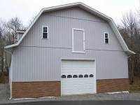 14 40x80x12 post-frame garage in Grove City, PA