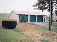 15 32x56x12 post-frame garage in Butler, PA