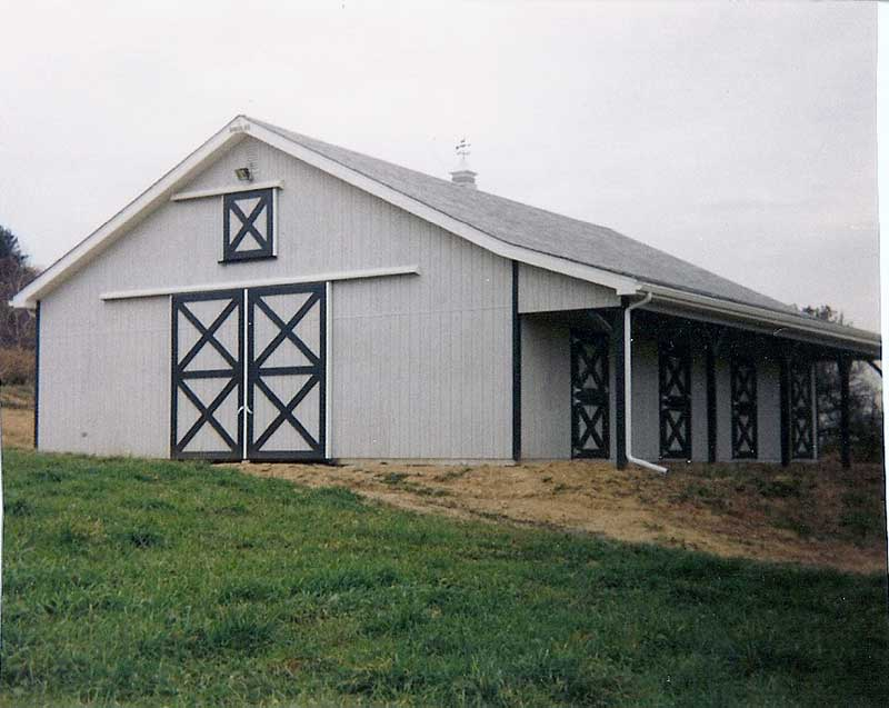 Horse Barns Hostetler Construction