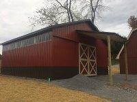 30x40x12 horse barn in Portersville PA