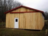 24x40x10 post-frame horse barn in Sarver, PA